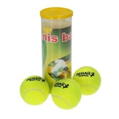 3pcs/can Tennis Training Ball Practice High Resilience Training Durable Tennis Ball Training Balls For Beginners Competition By New Plus.