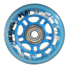 1pcs 70mm 82a Replacement Wheels Rollerblade Skating Inline Skate Shoes Blue By Audew.