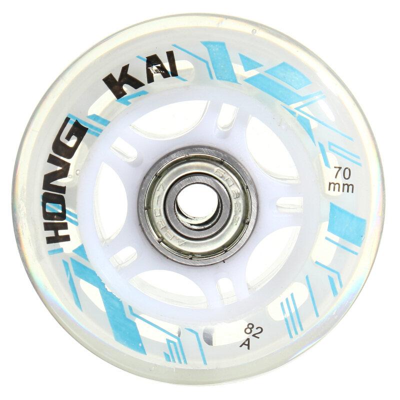 Mua 1 chiếc 70mm 82A Thay Thế Bánh Xe Rollerblade Trượt Inline Skate Trắng