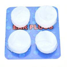 Mecola 4x Soft Water Swimming Swim Bath Silicone Ear Plugs Sleep Work Noise Reducing By Mecola.