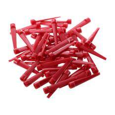 50pcs Plastic Golf Tee Tees (red) By Lapurer.