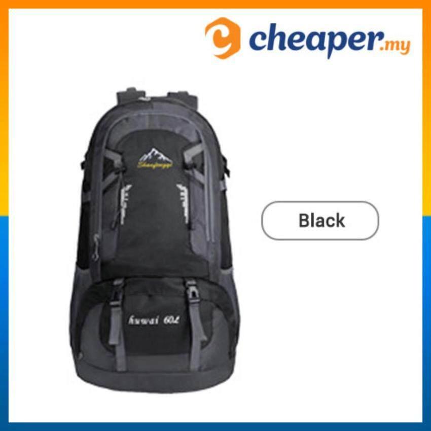 e2938eccf9 60L Sport Backpack Outdoor Hiking Backpack Athletic Sport Travel Backpack  Sports Bag