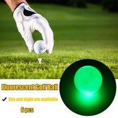 6pcs Led Golf Balls Glow In Dark Night Golfing Light Up Golf Balls By Autoleader.