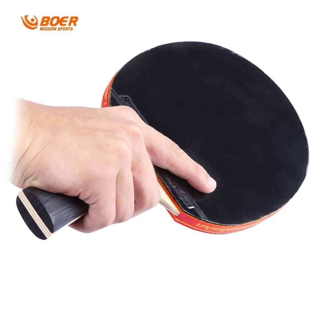HP S5 Table Tennis Rackets Pimples-in Rubber Bat for Fast Attack Type Player (Intl)
