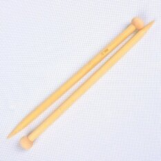 Hiqueen Big Sale Ostart 18 Sizes 10`` (25cm) Single Pointed Bamboo Knitting