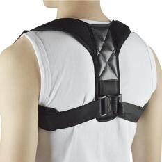 Adjustable Posture Corrector Upper Back Support Brace Corset Clavicle Correction Belt For Women And Men Color:upgrade (black) Specification:free Size By Hiquuen.