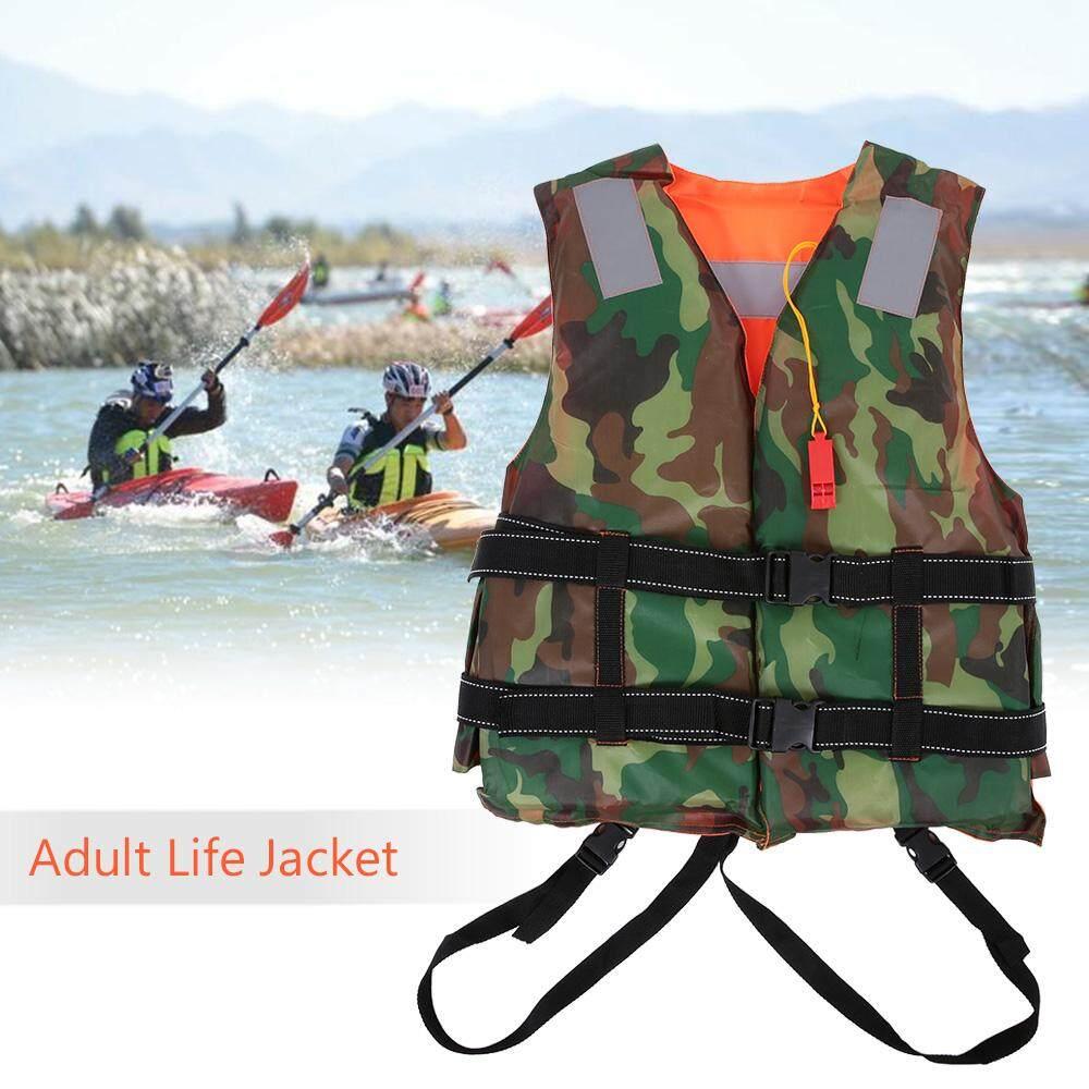 Adult Lifesaving Reversible Life Jacket Buoyancy Aid Flotation Device Work Vest Clothing Swimming Marine Life Jacke