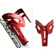 Qimiao Alumunium Alloy Ringan Bersepeda Sepeda Gunung Balap Botol Air Sepeda Tempat Penahan Braket (merah) By Qimiao Store.
