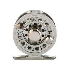 Qimiao Aluminum Alloy Front Wheel Force Relief Light Weight Practical FL60 Raft Fly Fishing Reel Specification:Gold + silver FL60 fly fishing reel