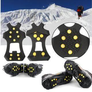 Bọc Giày Bốt Chống Trượt, Ice Cleats Spikes Kẹp Tuyết, S-XL Móc Chống Trượt thumbnail