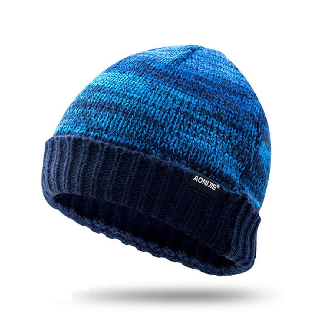 Buy Sell Cheapest Zloyi Aonijie Topi Best Quality Product Deals Knitted Hat Acrylic 58 62 Cm Gray Biru Modis Uniseks Luar Ruangan Sport Musim Dingin Hangat Rajutan Internasional