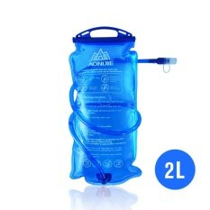 AONIJIE Outdoor Cycling Running Foldable PEVA Water Bag Sport Hydration Bladder for Camping Hiking Climbing 2L