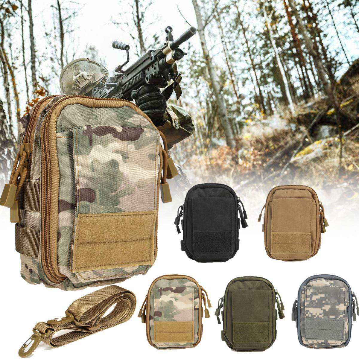 Army Green Tactical Camping Military Pouch Belt Waist Bag Phone Pocket Waterproof Strap Intl Free Shipping