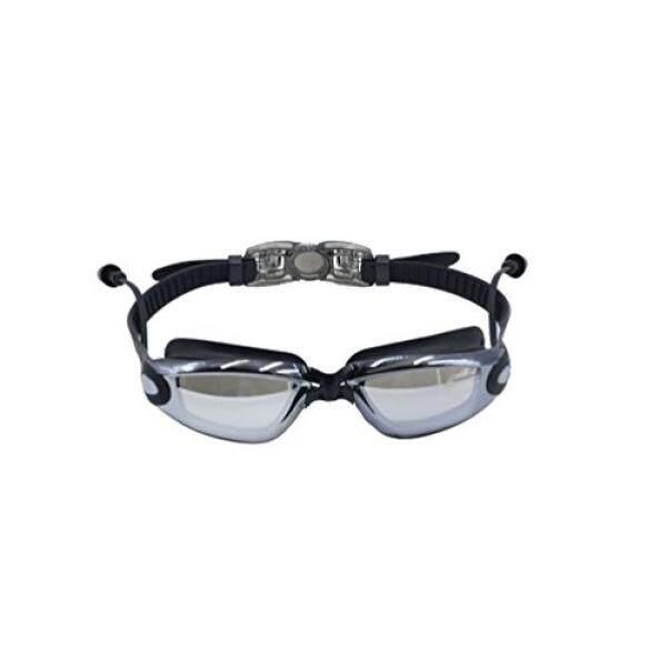 Asolaba Kacamata Renang untuk Pria, Wanita, Anak Muda Visi Yang Jelas, Pelindung UV Anti Kabut, Anti Gores Lensa PAS dan Nyaman, Rilis Cepat Tali Non Bocor (Hitam)-Intl