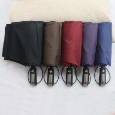 Xj Automatic Open/close Umbrella Foldable Rain Umbrella, Waterproof, Windproof, Compact For Easy Carrying Totes Purple By Xajn Mall.
