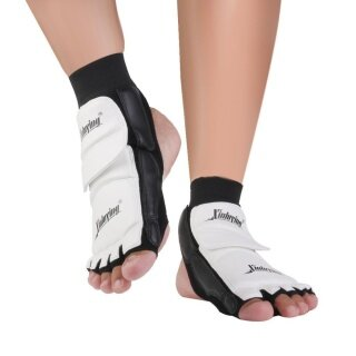 B-F 1 Pair Taekwondo Foot Protector Karate Boxing Martial Arts Sparring Daily Training For Adult Kids (Size S) - intl thumbnail