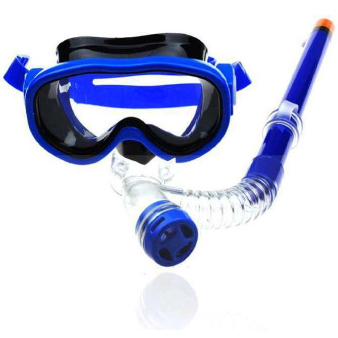 Underwater Full dry diving mask diving artifact anti-fog 180 ℃ swimming glasses(ordinary