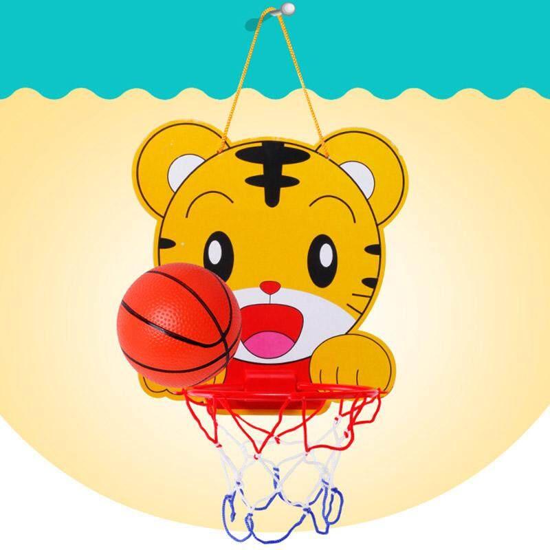 Hình ảnh Bellamall:Baby Sports Indoor Outdoor Mini Backboard Basketball Hoop Net Toy Gift Pump Set - intl
