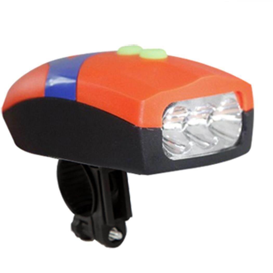 Terbaik Seller Sunweb Lampu Kepala Sepeda Sepeda LED Senter dengan Lonceng Stang Klakson Sepeda Lampu-Internasional
