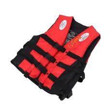 Bestprice-Jaket Keselamatan Dewasa Berenang Mengapung Perahu Busa Rompi Apung dengan Peluit-Intl