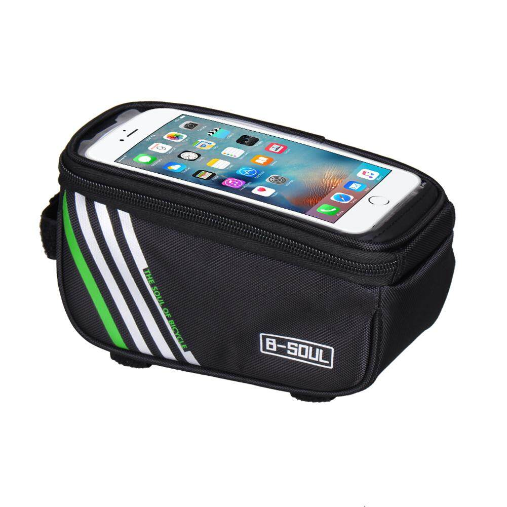 Bike Bags Buy At Best Price In Malaysia Rockbros 010 4bk Mtb Handlebar Bag 6 Inch Waterproof Fast Delivery 3 Daysenjoy Free Shippingbicycle Cycling Frame Front