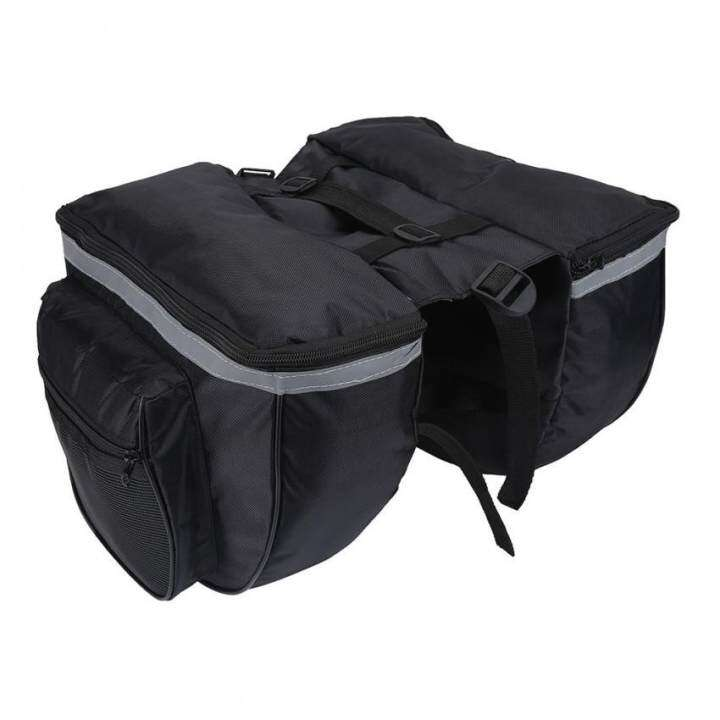 epayst Bike Waterproof Rear Storage Bag Bicycle Back Rack Pouches Cycling Accessory