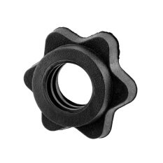 Black Pair Vinyl Spinlock Collars For 1 Standard Weight Barbells Bars Useful By Yueyi Store.