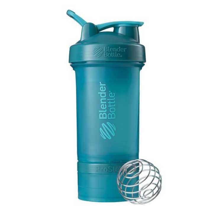 Protein Shaker Net: BlenderBottle Prostak, Teal, 22oz (Protein Shaker Bottle