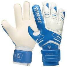 Blue Goalkeeper Gloves Finger Protection Soccer Football Goalie Gloves Sports Skiing Gloves By Let Us Come On..