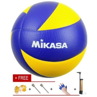 Bola Voli Volleyball Size 5 Soft PU Mikasa Volleyball MVA 200 With Carrying  Net and Inflator 8957030b64