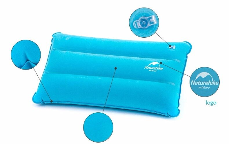 Merek Naturehike Inflatable Bantal Untuk Travel Hiking Backpacking Berkemah Tidur Bantal Udara Portabel - Intl By Topseller Mall.