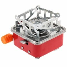 Camping Use Gas-Powered Portable Card Type Stove By Express D.