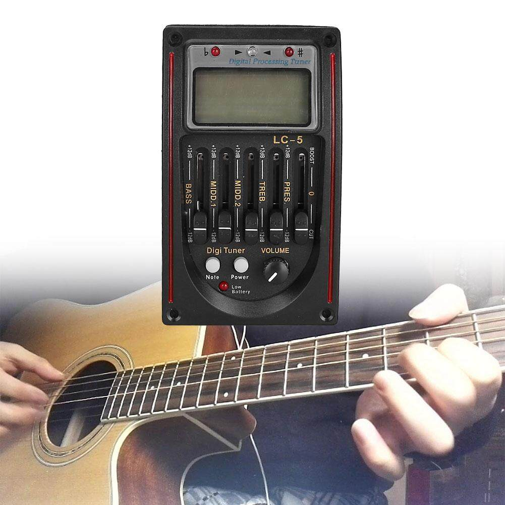 VND 229.000. Arctic Land 5-Band Guitar Preamp EQ Equalizer Piezo Pickup Tuner Device Accessories - intlVND229000