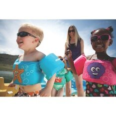 Childrens Life Jacket Baby Floating Swim Drift Life Vest Color Pattern Random By Lucky Girl Store.