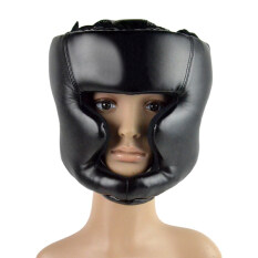 Cyber Headgear Head Guard Training Helmet Kick Boxing Protection Gear (black) By Happydeal365.