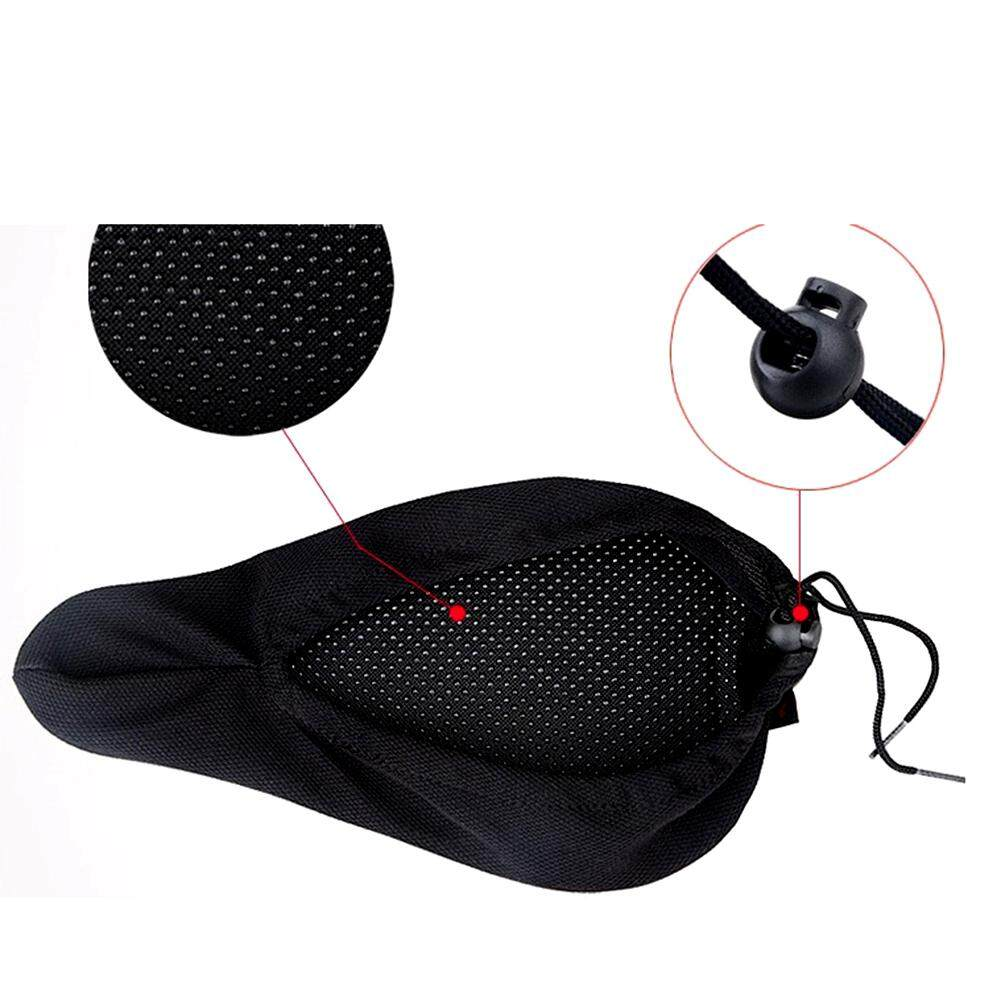 Bike Saddles Buy At Best Price In Singapore Www Rockbros Bicycle Saddle Cover Silicone Gel Cycling 3d Seat Cushion Soft Comfort Pad Black Intl