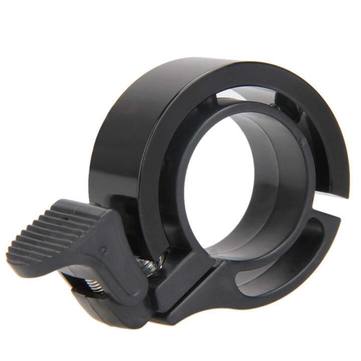 Cycling Bike Bicycle Handlebar Ring Bells Horn Mini Safe Alarm (Black)