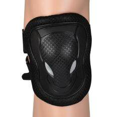 Cycling Roller Skate Ski Bike Protector Gear Pad Guard Set For Knee Elbow Wrist By Lagobuy.