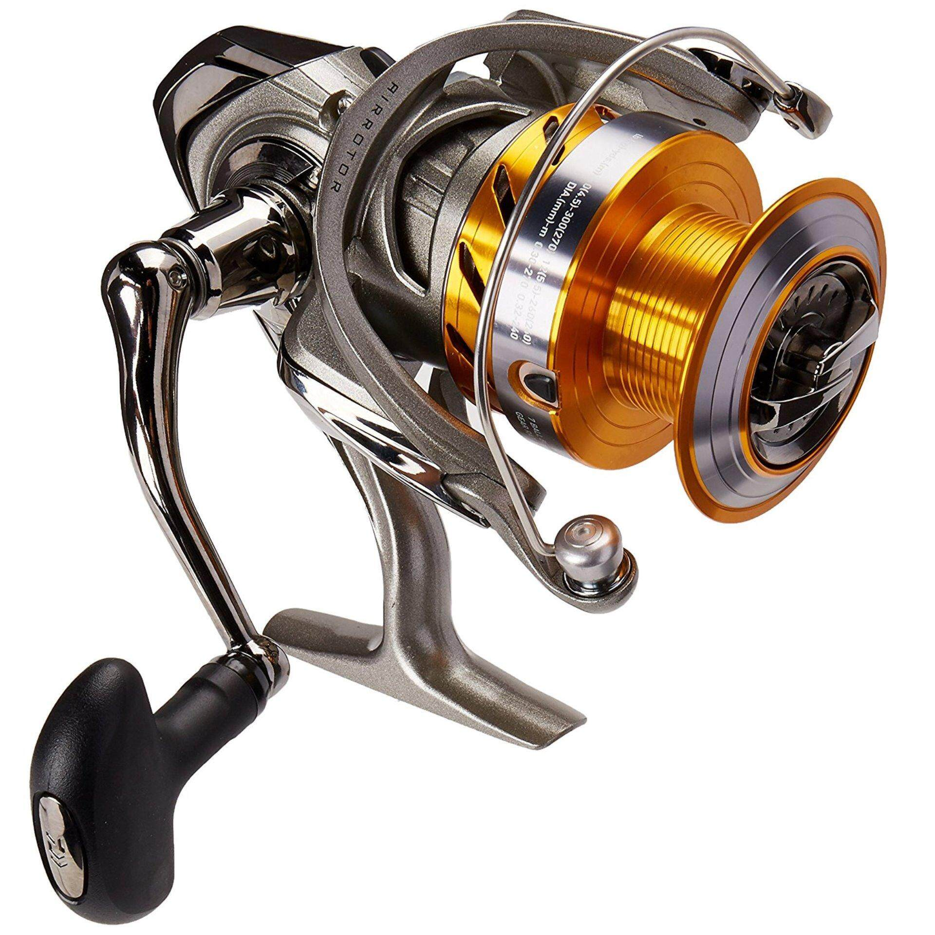 Daiwa Revros Heavy Action Spinning Reel REV4000H, Medium (Multicolor) - intl