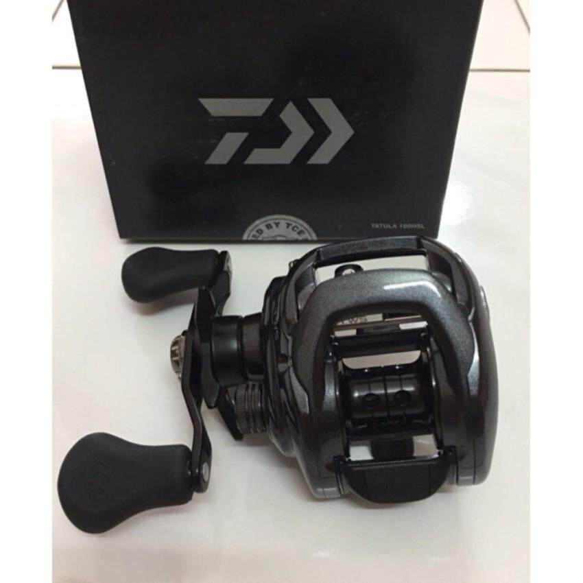 DAIWA TATULA 100HSL ( BLACK ) Fishing Casting Reel - Mesin Pancing Cast Tackle - intl