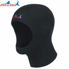 Diving Hood 1mm Neoprene Scuba Snorkeling Wetsuit Hoods Cap Surf Divers Hat By Made In Heaven.