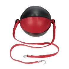 Double End Punching Speed Ball Striking Punching Ball Solid Leather Sporting Mma Boxing Training Gear By Tomtop.