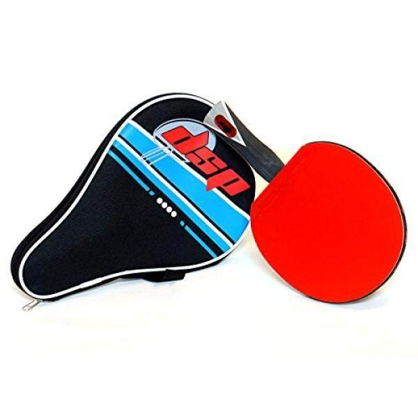 DSP ACE 860 Table Tennis Paddle - Competition ITTF certified Double Power Racket Rubbers -Ideal for Advanced or Intermediate Ping Pong Players looking for Speed, Spin and Control Includes Racquet Bag - intl
