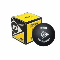 Dunlop Squash Ball Pro (1pcs) By Perfect Sports.