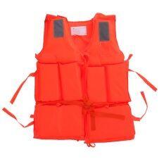 Ecosport Polyester Adult Life Jacket Boating Ski Vest By Florasun.