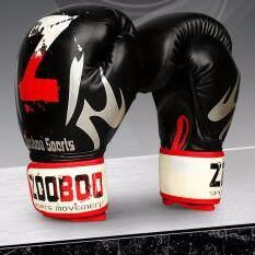 EcoSport Zooboo 10OZ MMA Muay Thai Boxing Punching Gloves MMA Training PU Boxing Pads Mitt Fighting