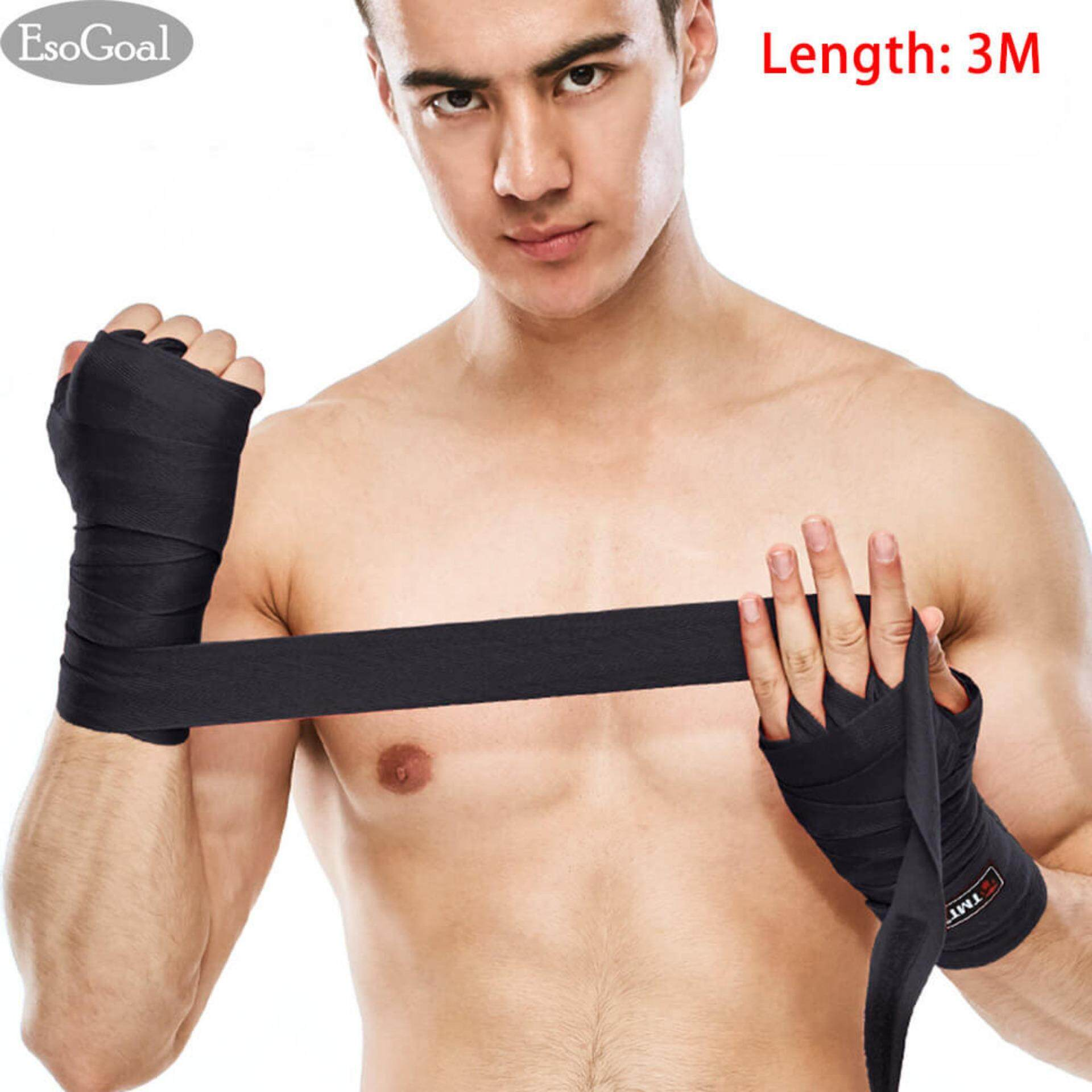 EsoGoal Hand Wraps Straps Kickboxing Training Fitness(Pair) 3M