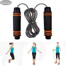 EsoGoal Counter Jump Rope Fast Speed Counting Light Weight Steel Wire Cable for Boxing MMA Fitness