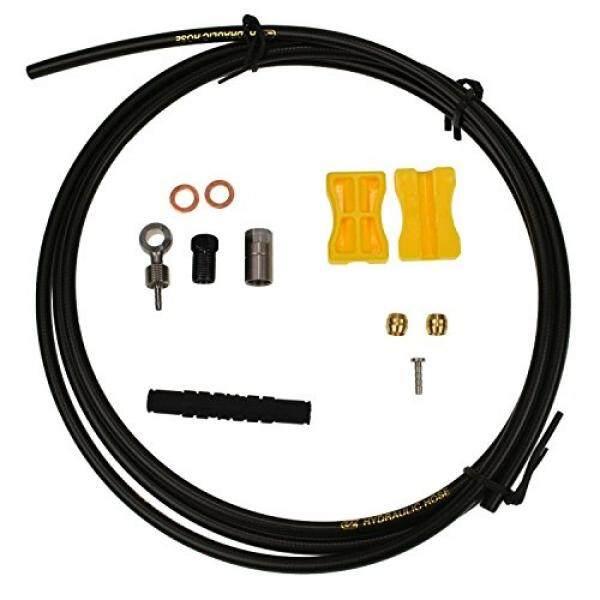 EZs Brake Hose for Shimano BH90 - Black, Cuttable (Hose 1.7 meter + Adapter) - intl