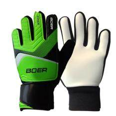 Fang Fang Childrens Students Goalkeeper Gloves Finger Protection Soccer Football Goalie Gloves Sports Skiing Gloves - Green By Fangfang_719.
